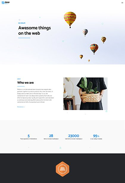 Agency Demo - Premium WordPress Theme