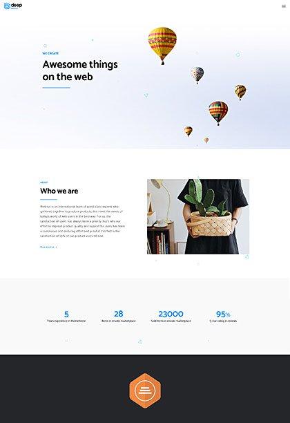 Agency Demo - Premium WordPress Theme