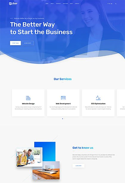 Business Demo - Premium WordPress Theme