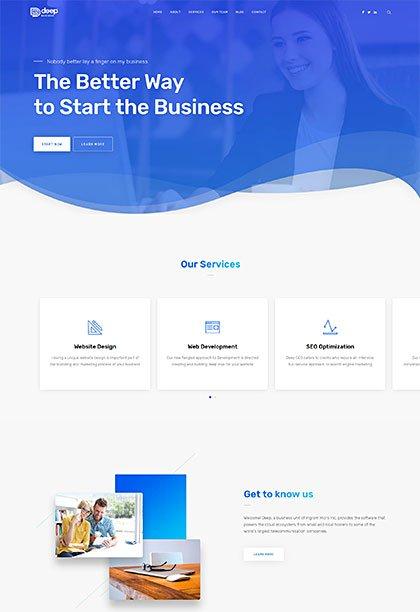 Business Demo - Premium WordPress Theme