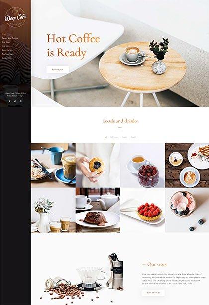 Cafe Demo - Premium WordPress Theme