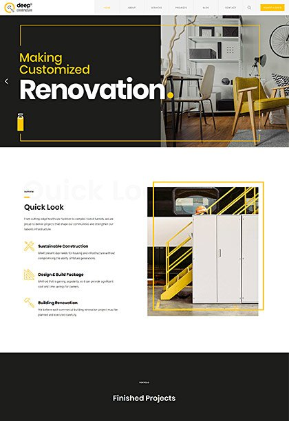 Construction Demo - Premium WordPress Theme