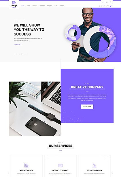Corporate Demo - Premium WordPress Theme