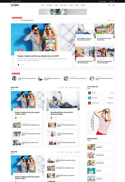 Magazine Demo - Premium WordPress Theme