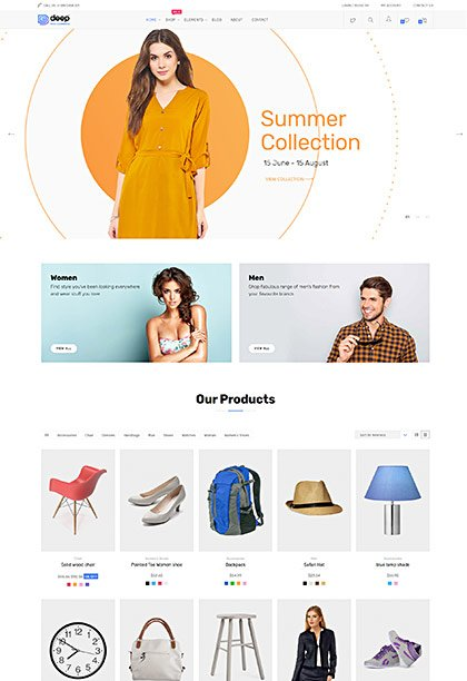 Shop Demo - Premium WordPress Theme