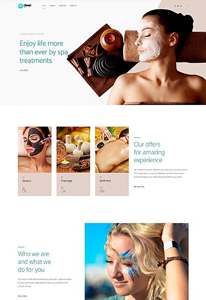 Spa Demo - Premium WordPress Theme