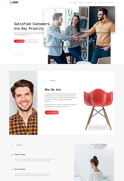 Startup Demo - Premium WordPress Theme