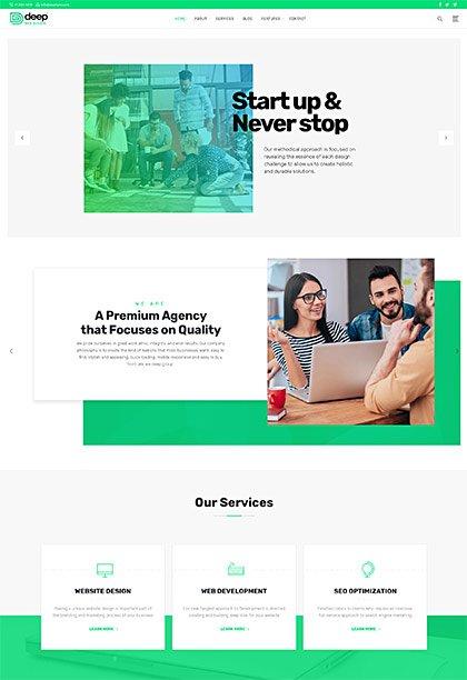 Web-Design Demo - Premium WordPress Theme