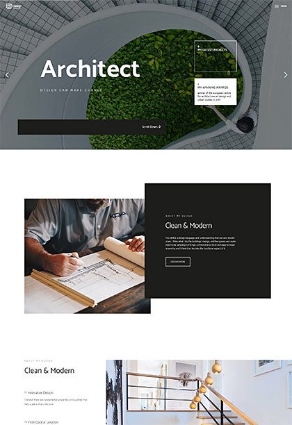 Architect Demo - Premium WordPress Theme
