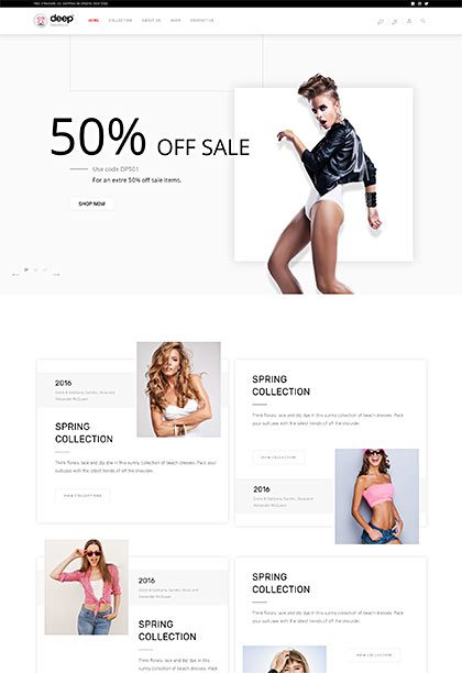 Boutique Demo - Premium WordPress Theme