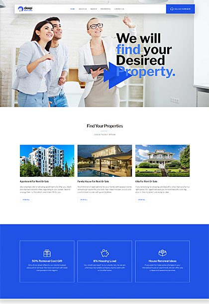 Real Estate Demo - Premium WordPress Theme