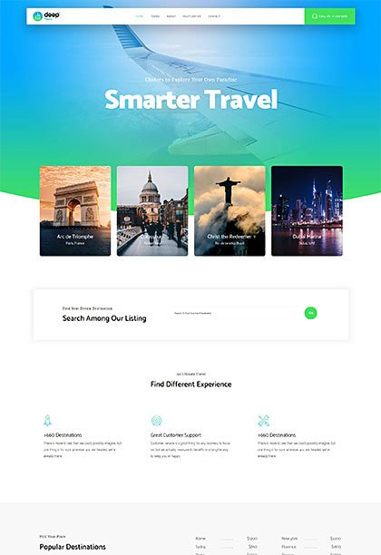 Travel Demo - Premium WordPress Theme