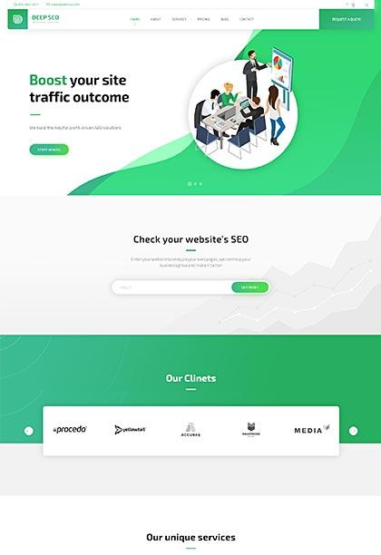 SEO Demo - Premium WordPress Theme