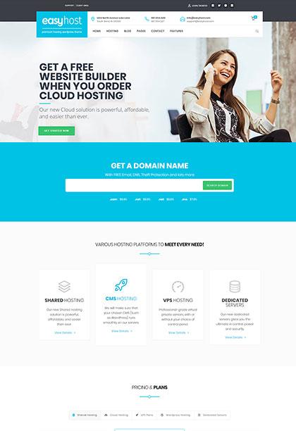 Easyhost Demo - Premium WordPress Theme