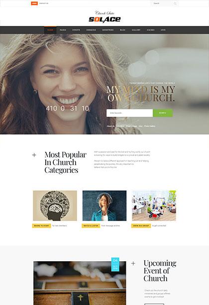 Solace Demo - Premium WordPress Theme