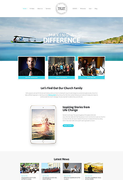 Trust Demo - Premium WordPress Theme