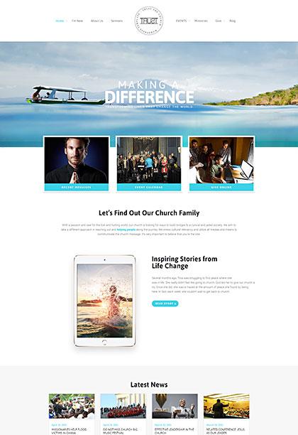 Trust Demo - Premium WordPress Theme