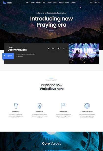 Forward Demo - Premium WordPress Theme