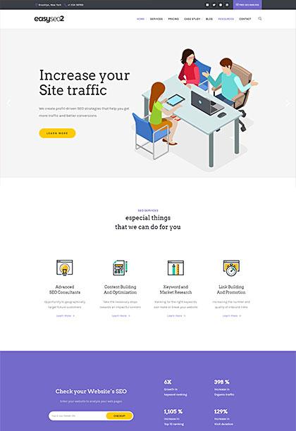 EasySEO2 Demo - Premium WordPress Theme