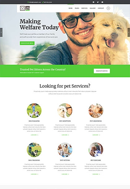 HappyPets Demo - Premium WordPress Theme