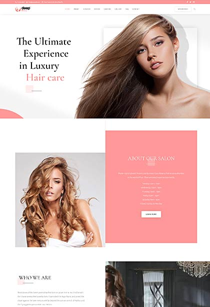 Beauty Demo - Premium WordPress Theme