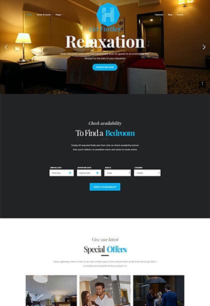 Hotella Rome Demo - Premium WordPress Theme