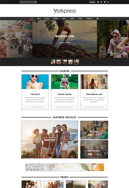 YorkPress Demo - Premium WordPress Theme