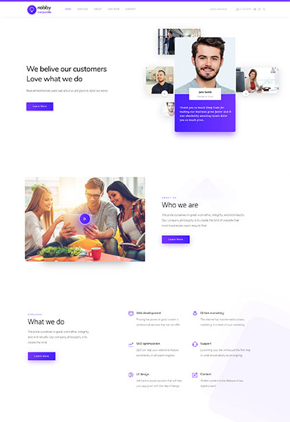 Corporate2 Demo - Premium WordPress Theme