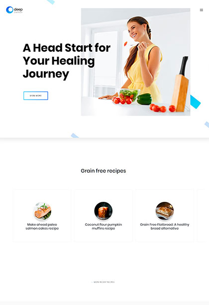 Dietitian Demo - Premium WordPress Theme