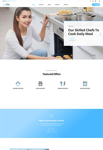 Housekeeping Demo - Premium WordPress Theme