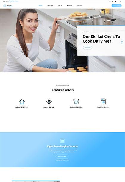Housekeeping Demo - Premium WordPress Theme