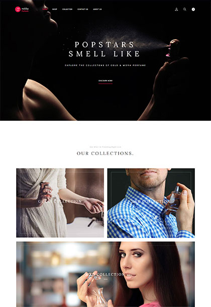 Perfume Demo - Premium WordPress Theme