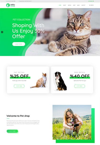 Petshop Demo - Premium WordPress Theme